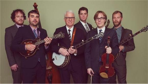 Watch: Steve Martin and the Steep Canyon Rangers