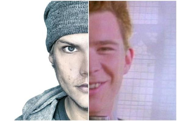 The Maniacal Avicii and Rick Astley Mashup You Should Probably Avoid