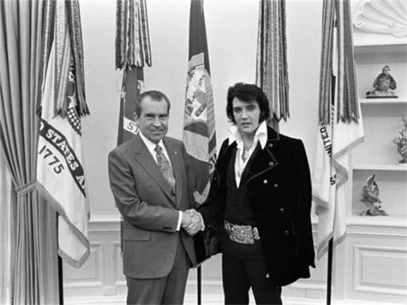 REMINISCENT MONDAY: When the King Met the President