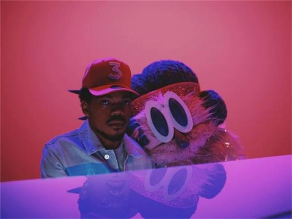 Chance The Rapper Sings With a Very Large Puppet in 'Same Drugs' Video