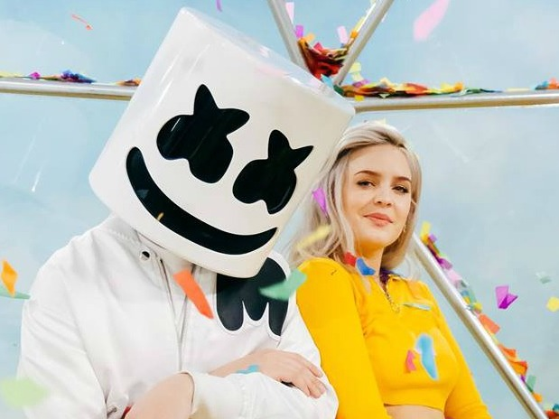 Marshmello and Anne-Marie Just Want To Be 'FRIENDS'