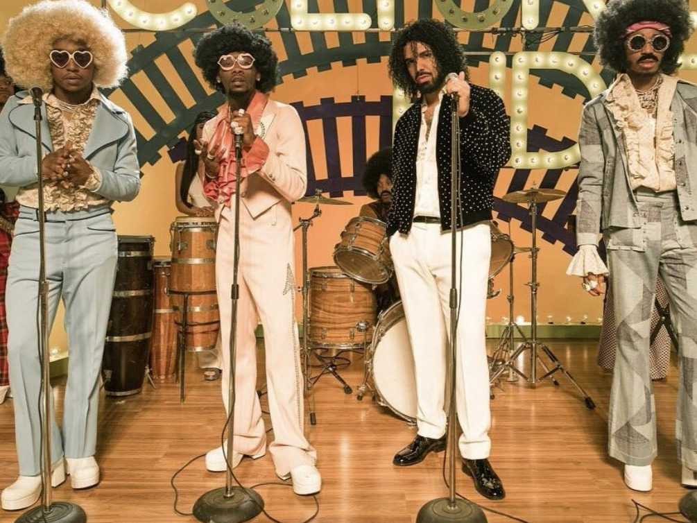 Migos and Drake Are All Aboard Soul Train Vibes With Music Video For 'Walk It Talk It'