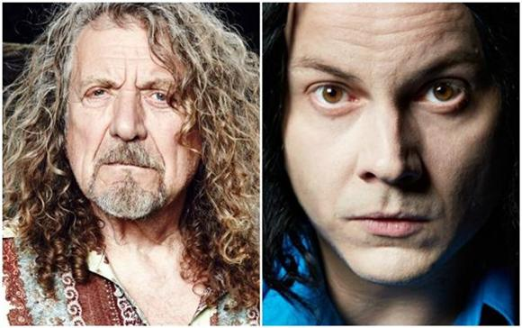 Jack White And Robert Plant Perform 'Lemon Song' Live