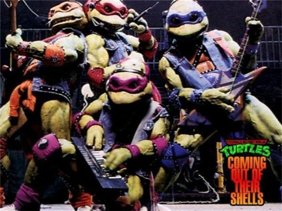 Remember When The Ninja Turtles Became A Touring Rock Band?