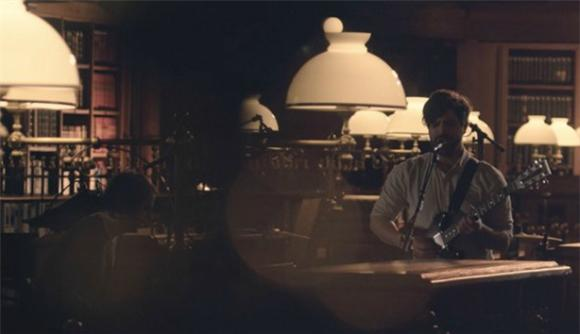 Foals Occupies Empty Paris Library With 'Late Night'