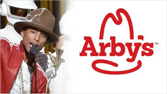 Arby's Purchased Pharrell's Hat For 44 Thousand Bucks