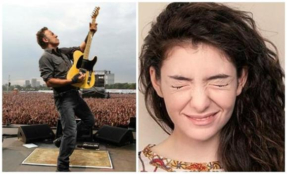 Bruce Springsteen Awkwardly Covers Lorde's 'Royals'