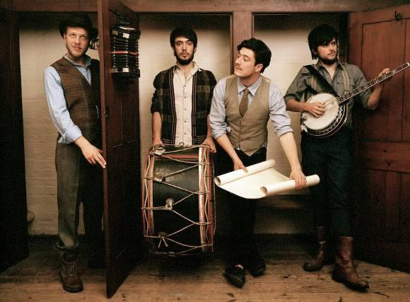 mumford and sons plot railroad revival tour