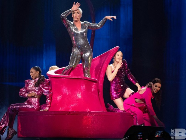 p nk gives what is possibly the performance of the year baeble music