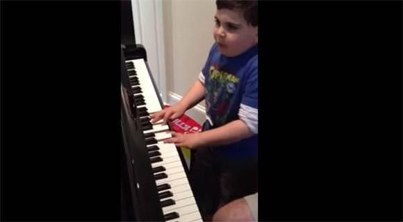Watch This Kid Play Piano by Ear