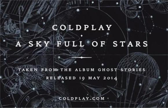 Coldplay Share Avicii-Produced Single 'A Sky Full of Stars'