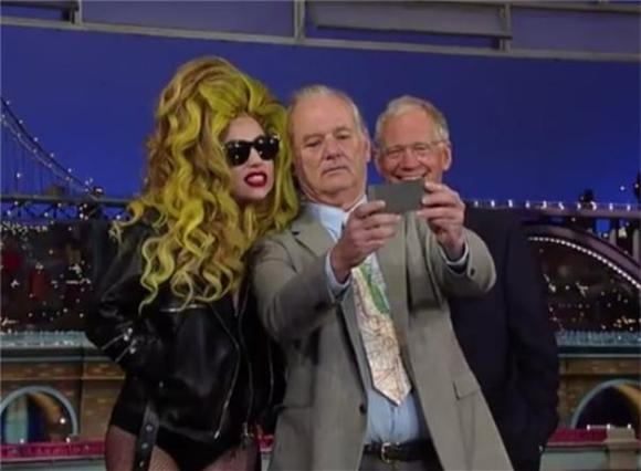 Lady Gaga Performed For David Letterman and Bill Murray