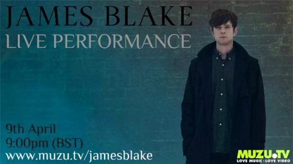 Watch James Blake Streaming Live from London