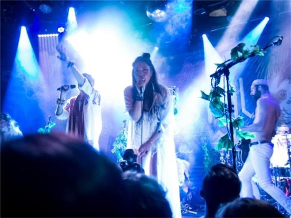 Crystal Fighters Light Up The Bowery Ballroom