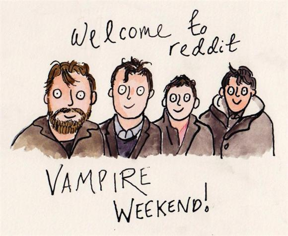 Vampire Weekend Joins the Reddit World