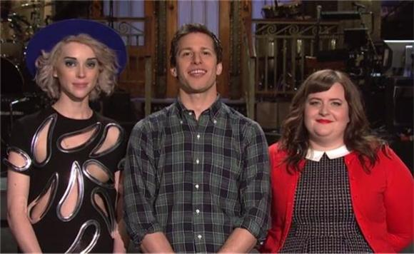 See Andy Samberg and St. Vincent's SNL Promo Reel