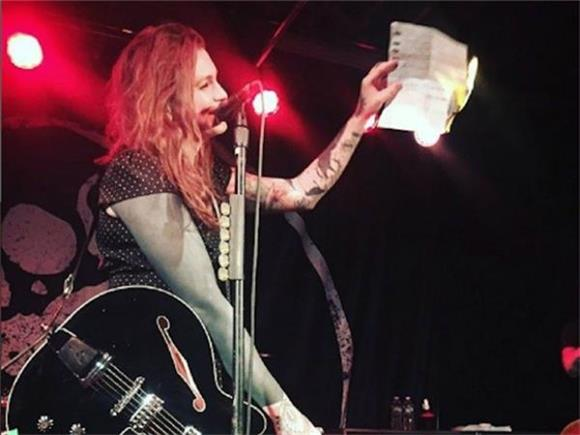 Laura Jane Grace Does A Lot More Than Burn Her Birth Certificate