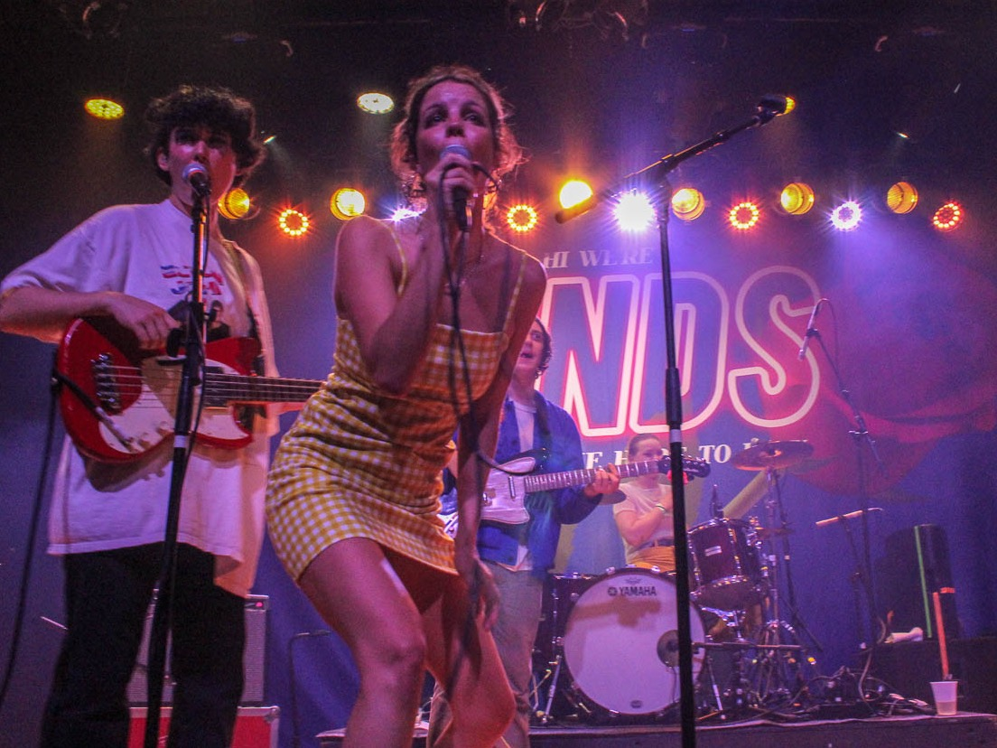 Hinds Bring The Party To Brooklyn