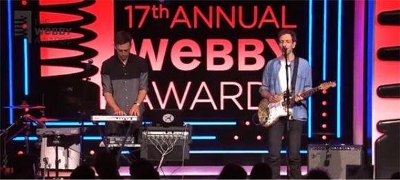 See Tanlines Perform 'All of Me' at the Webby Awards