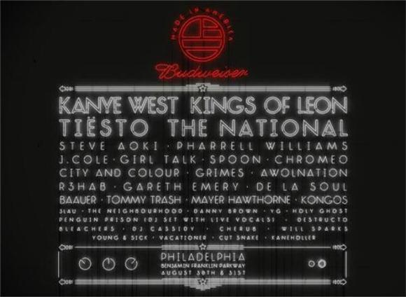Jay Z's Made in America Philly Lineup Revealed