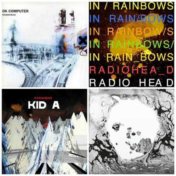 Worst To First:  Radiohead Albums