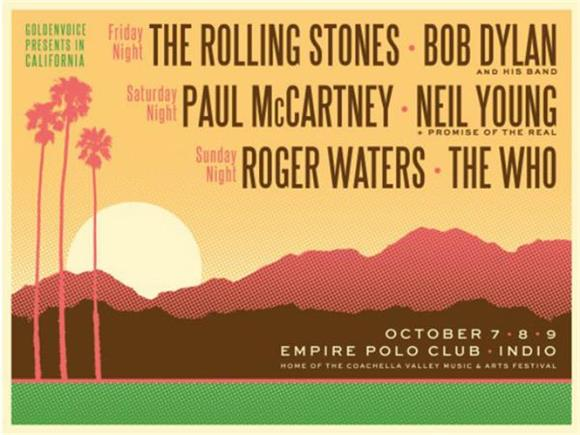 Desert Trip  was announced today and we would like to propose an alternate title  Gathering Of Geezers