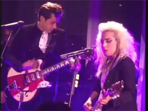 Watch Lady Gaga Rock the Hell Out of This Talking Heads Cover