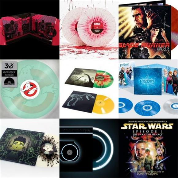 10 Awesome Vinyl Soundtrack Designs