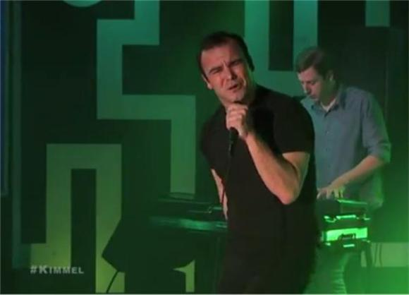 Future Islands Do Their Dance For Jimmy Kimmel