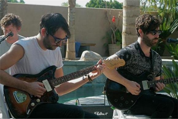 Foals Ditch the Wellies and Mud at Baeble's Desert Oasis