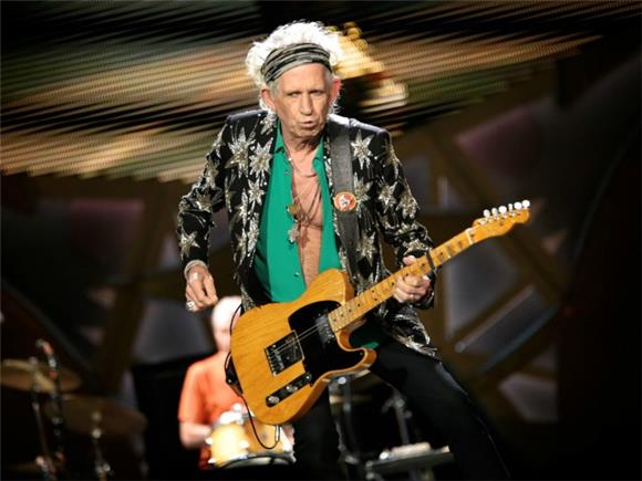 REMINISCENT MONDAY: Keith Richards' Crazy Dances With Death