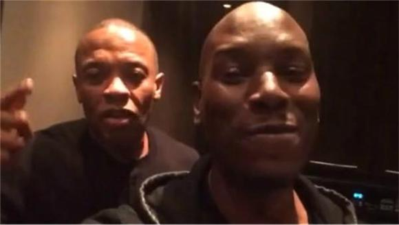 Dr. Dre Celebrates Billion-Dollar Deal with...Tyrese?