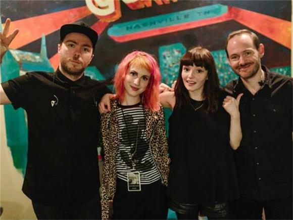 CHVRCHES Up The Ante With Paramore's Hayley Williams