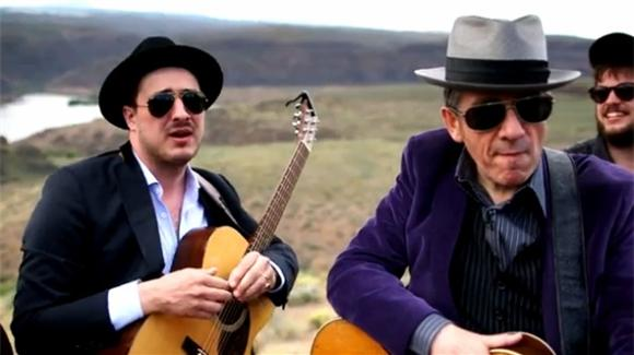 Elvis Costello and Mumford Give Springsteen Classic a Folk Facelift
