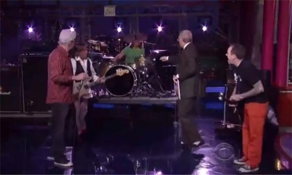 David Letterman 'Are Those Your Drums' Mega Cut