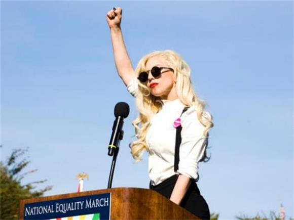 Watch and Listen to Lady Gaga's Moving Speech During a Vigil for Orlando
