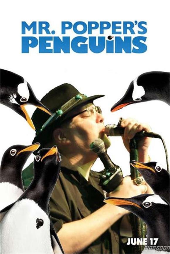 Pic Of The Day: Mr. Popper's Penguins