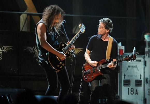 Collab Of The Day: Metallica and Lou Reed