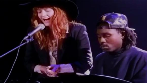 Florence Welch and Dev Hynes Cover Icona Pop for Equality Rocks