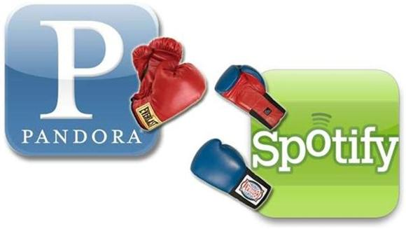 Internet Radio Showdown: Spotify vs. Pandora