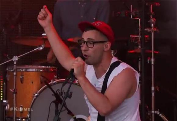 Bleachers Can't Get Much Better on Jimmy Kimmel