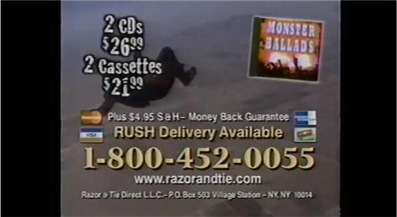 Rush Delivery Available: 10 Throwback Albums As Seen On TV