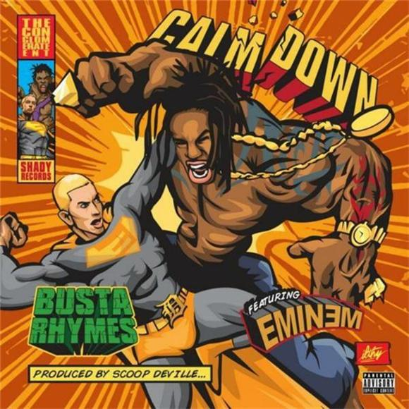 Busta Rhymes and Eminem Rumble in 'Calm Down'