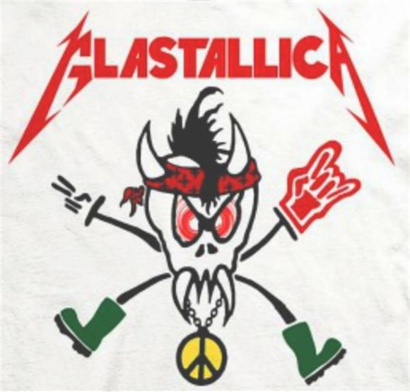 Metallica Trolled Glastonbury Haters With 'Glastallica' T-Shirts