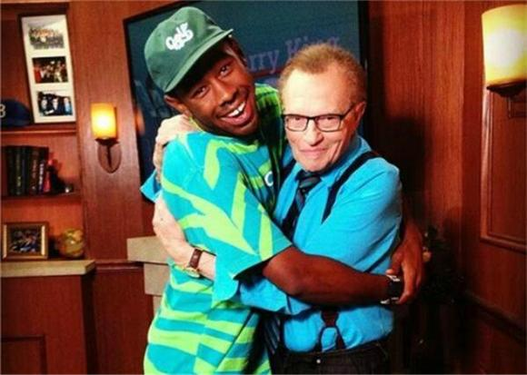 Watch Tyler, The Creator's Incredible Larry King Interview
