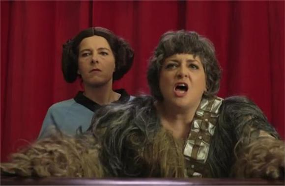 Neko Case and Kelly Hogan Mock Star Wars Fanboys In New Video