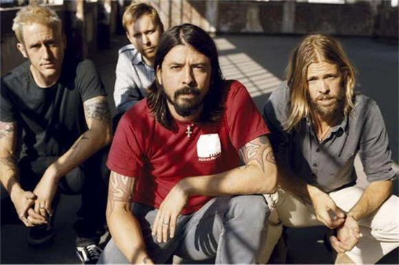 Dave Grohl Boots Fighting Fan