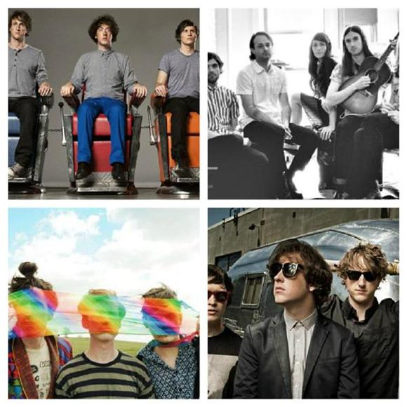 This Week on Indie NYC: The Wombats, Reptar, Guards