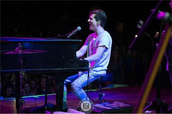 Out And About: Charlie Puth's North American Debut