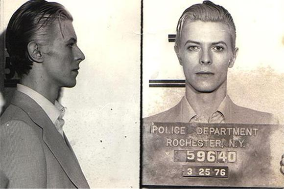 Throwback Thursday: David Bowie's 1976 Arrest Newsreel Footage